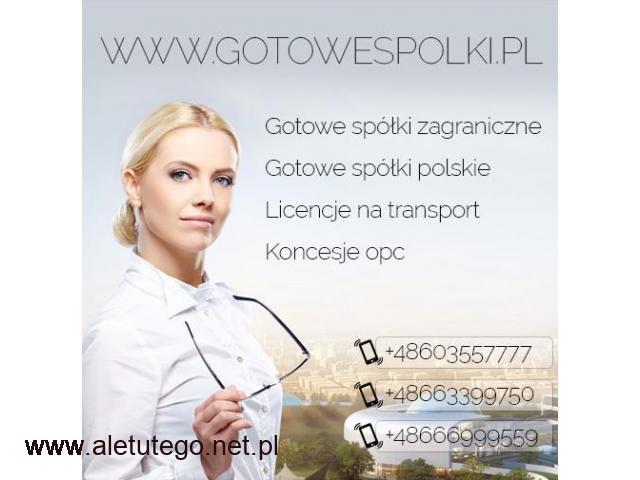 Gotowa Spółka Zagraniczna z VAT UE Niemcy, Łotwa, Bułgaria, Czechy, Słowacja, Hiszpania, Włochy