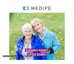 Opiekunka do mobilnego Seniora zlecenie na 2 miesiące z atrakcyjną PREMIĄ